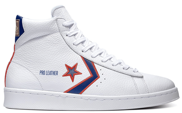 "Converse PRO LEATHER MID ""FORT WAYNE PISTONS"" 167058C"