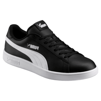 Puma Smash v2 leren sportschoenen Wit / Zwart 365215_04