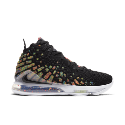Nike LeBron 17 Black BQ3177-005
