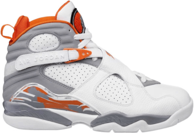 Jordan 8 Retro Orange White (GS) 305368-102