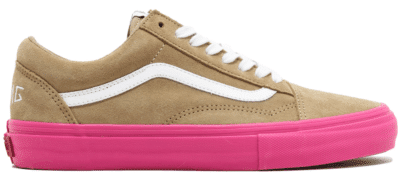 Vans Old Skool Pro S Golf Wang Wheat Pink VN0QHMF5F