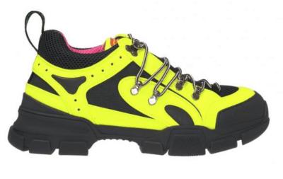 Gucci Flashtrek SEGA Reflective Yellow 543162 97Y20 7266