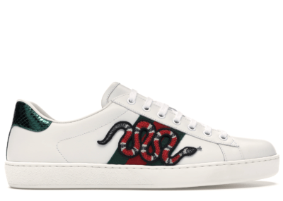 Gucci Ace Embroidered Snake 456230 A38G0 9064