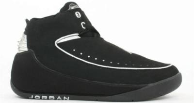 Jordan Nu Retro Air Jordan 2 Black Chrome 306152-001