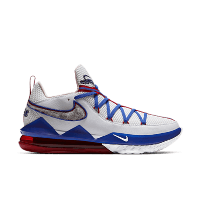 Nike LeBron 17 Low White CD5007-100