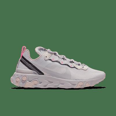 Nike Wmns React Element 55 'Platinum Violet' Grey CW2369-001