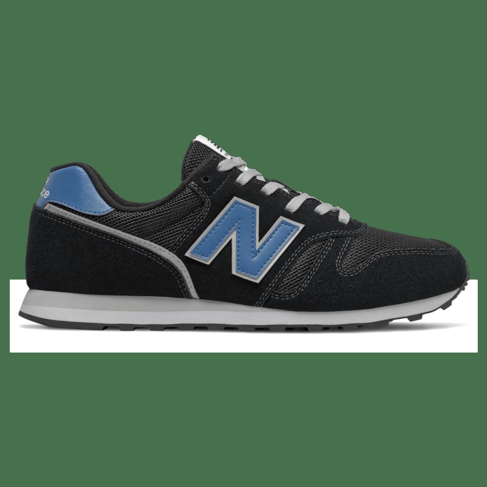 New Balance 373  Black/Mako Blue ML373AB2