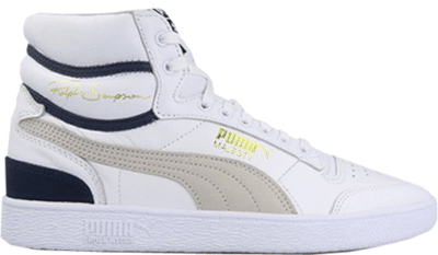 Puma Ralph Sampson Mid OG White Grey Violet Peacoat 370718-01