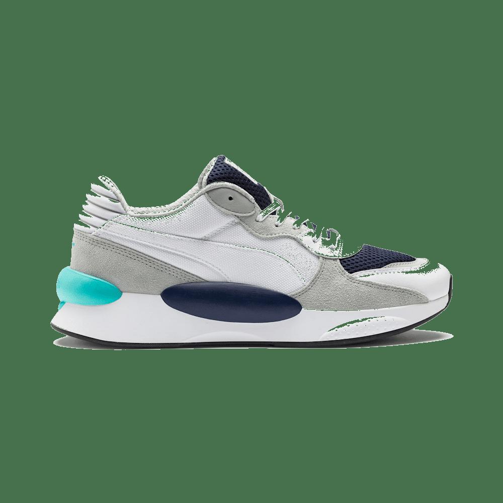 Puma RS 9.8 Cosmic sportschoenen voor Heren Wit / Blauw 370367_01