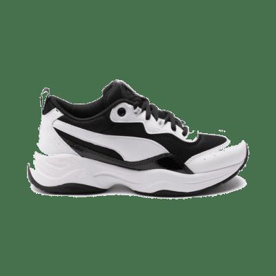 Puma Cilia Patent sportschoenen voor Dames Zilver / Zwart / Wit 372500_03