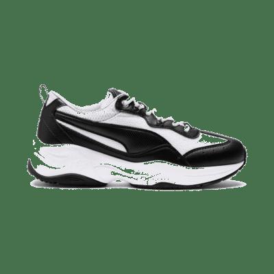 Puma Cilia sneakers voor Dames Zwart / Wit / Zilver 369778_03