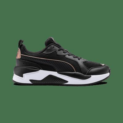 Puma X-Ray Metallic sportschoenen voor Dames Wit / Roze / Zwart 373072_01