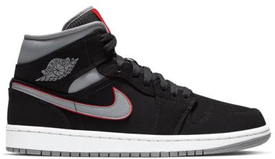 """Jordan Air Jordan 1 Mid """"Black"""" 554724-060"""