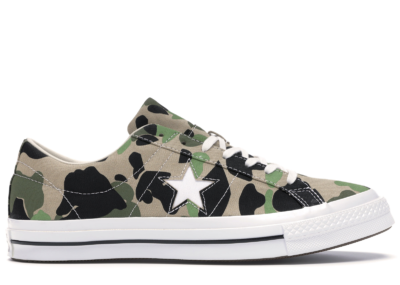 "Converse One Star OX Archive Prints ""Duck Camo"" 165027C"
