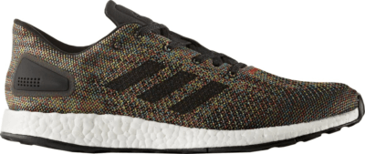 adidas PureBoost DPR Multi-Color Core Black/Crystal White/Rainbow CG2993