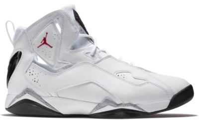 Jordan True Flight White Cement White/Gym Red-Black-Wolf Grey 342964-104