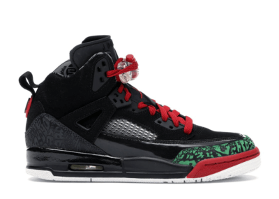 Jordan Spizike Black Varsity Red 2017 (GS) Black/Varsity Red-Classic-Green-White 317321-026