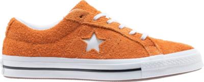 Converse One Star Ox Vintage Suede Bold Mandarin 161574C