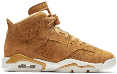 Jordan 6 Retro Wheat (GS) Golden Harvest/Golden Harvest-Sail 384665-705