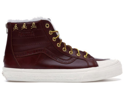 Vans Sk8-Hi Zip Kith x mastermind Japan Brown Brown/True White VN0A46ZFS5J