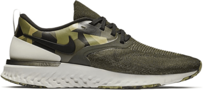Nike Odyssey React Flyknit 2 Sequoia Sequoia Neutral Olive Black AT9975-302
