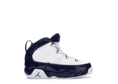 Jordan 9 Retro Pearl Blue (TD) White/University Blue-Midnight Navy 401812-145