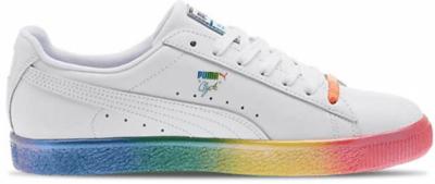 Puma Clyde Pride (2018) White/Rainbow 365742-01