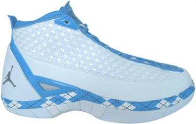 Jordan 15 SE UNC White/Metallic Silver-University Blue-Midnight Navy 325835-101