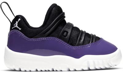 Jordan 11 Retro Little Flex Black Court Purple (TD) Black/Court Purple-Hyper Violet-White BQ7102-005