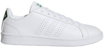 adidas Cloudfoam Advantage Clean White Green Footwear White/Footwear White/Green AW3914