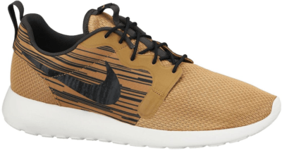 Nike Roshe Run Hyperfuse Metallic Gold Metallic Gold/Black/Medium Ash 636220-701