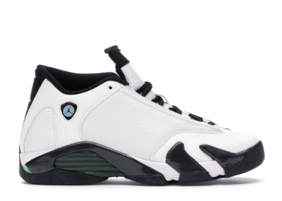 Jordan 14 Retro Oxidized Green 2016 (GS) White/Oxidized Green-Legend Blue-Black 487524-106