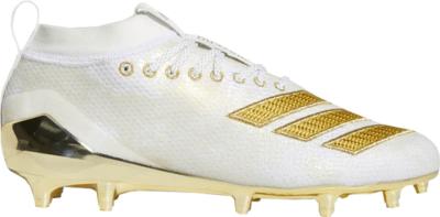 adidas Adizero 8.0 Cleat Cloud White Gold Metallic Cloud White/Gold Metallic/Cloud White EE7283