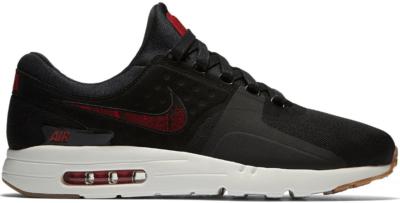 Nike Air Max Zero N7 (2017) Black/University Red-Gum Medium Brown 924449-001