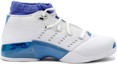 Jordan 17 OG Low White Carolina White/White-University Blue 303891-141