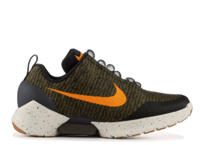 Nike HyperAdapt 1.0 Olive Flak Olive Flak/Orange Peel-Black-Sequoia 843871-300