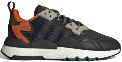 "Adidas Nite Jogger ""Core Black/Orange"" EE5549"