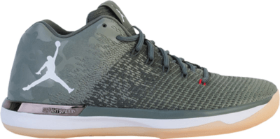 Jordan XXX1 Low Camo River Rock/White-Dark Stucco-University Red 897564-051