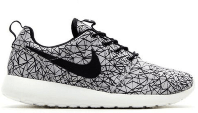 Nike Roshe Run Geometric Pack White Summit White/Black 631751-100