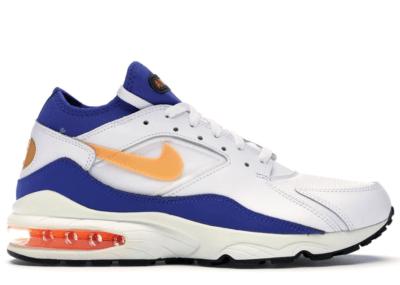 Nike Air Max 93 Bright Citrus White/Bright Citrus/Hyper Blue 306551-100