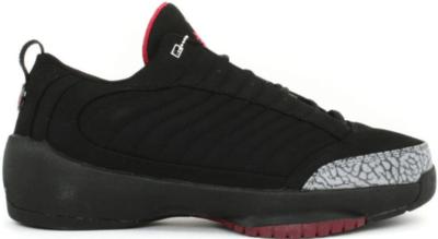 Jordan 19 OG Low Black Red Black/Metallic Silver-Varsity Red 308513-001