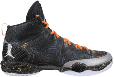 Jordan XX8 SE Christmas Black/White-Reflect Silver-Total Orange 616345-025