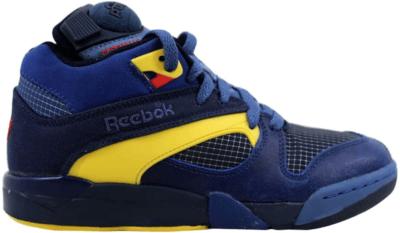 Reebok Court Victory Pump Navy/Club Blue-Yellow Navy/Club Blue-Yellow J99006
