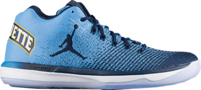 Jordan XXX1 Low Marquette University Blue/Amarillo-Midnight Navy 897564-406