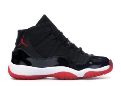 Jordan 11 Retro Playoffs 2012 (GS) Black/True Red-White 378038-010