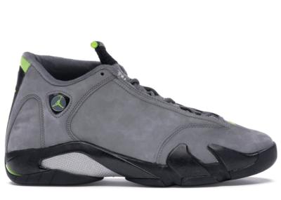 Jordan 14 Retro Graphite Chartreuse (2005) 311832-031