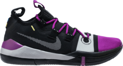 Nike Kobe AD Black Purple Black/Atmosphere Grey-Vivid Purple AV3555-002