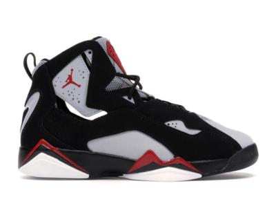 Jordan True Flight Black (GS) Black/Varsity Red/Wolf Grey 343795-060