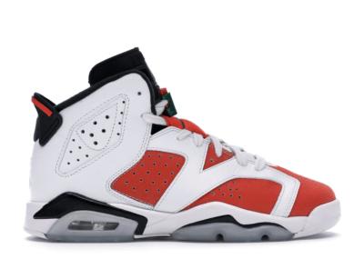 Jordan 6 Retro Gatorade Like Mike White (GS) Summit White/Team Orange-Black 384665-145