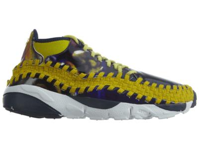 Nike Air Footscape Wvn Chk Yoth Qs Light Midnight Bright Citron Light Midnight/Bright Citron 649790-400